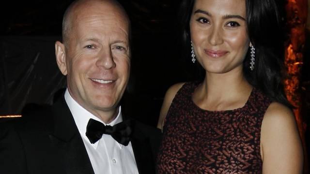 Glückliche Eltern: Bruce Willis und seine Frau Emma Heming erwarten Nachwuchs (Archiv)