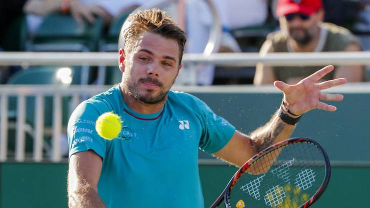 Stan Wawrinka gewann sein erstes Spiel in Monte Carlo.