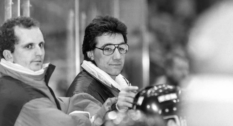 Jim Koleff 1993 als Trainer des SC Bern