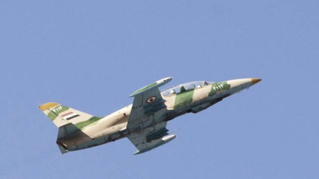 Ein Kampfjet der syrischen Armee (Archiv)