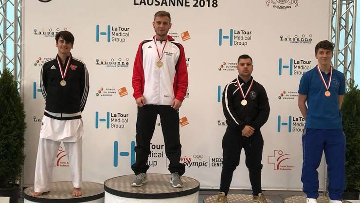 Marco Nani aus Hölstein holt überzeugend die Goldmedaille am 2. SKL in Lausanne