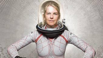 Der von Dava Newman entwickelte Raumanzug ist viel leichter als ein herkömmlicher.