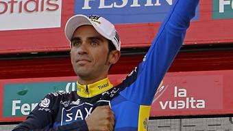 Alberto Contador geht mit 1:16 Minuten Vorsprung in Schlussetappe
