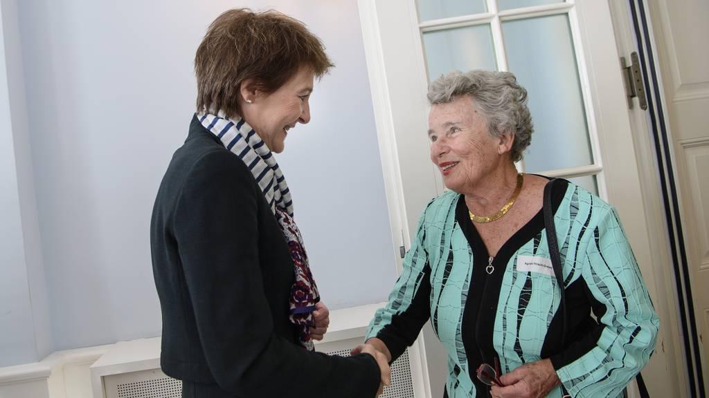 75 Jahre nach Auschwitz: Sommaruga trifft Holocaust-Überlebende