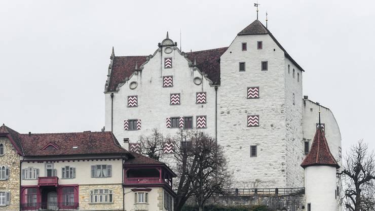 """Nächste Woche startet das Jassturnier """"az-Jasskönig"""" in den Aargauern Schlössern. Im Bild: Das Schloss Wildegg."""