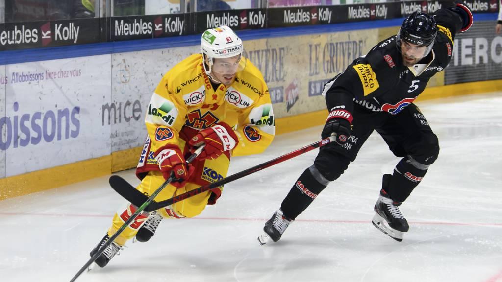 Biel gewinnt Spitzenkampf in Freiburg