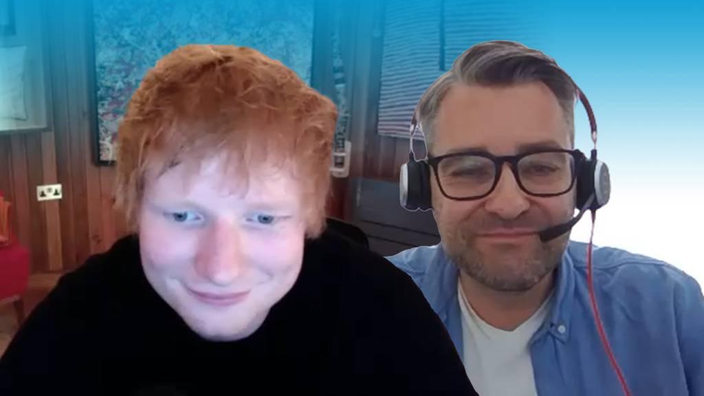 So streng sind die Auflagen für ein Gespräch mit Ed Sheeran