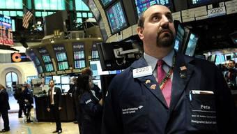 Die Wall Street schloss im Minus (Archiv)