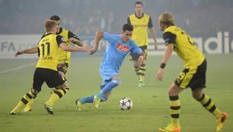 Dortmund geht unter, Messi trumpf gross auf