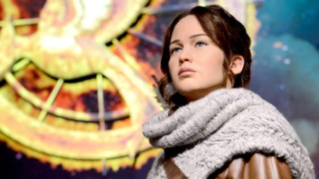 Katniss Everdeen in Madame Tussauds in London