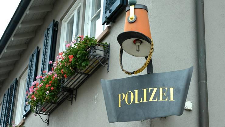 Der Polizeiposten in Riehen.