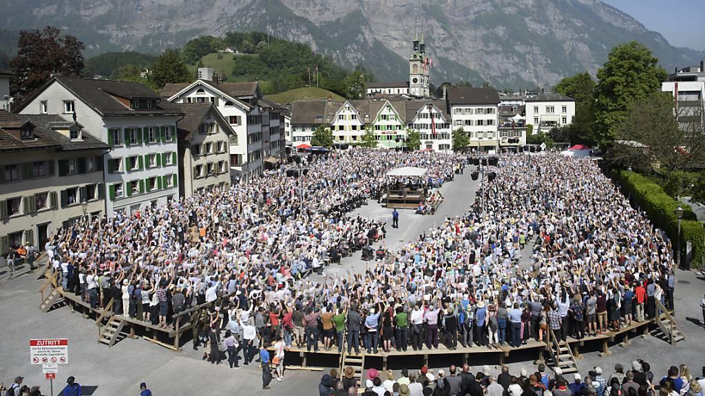 Zwei Landsgemeinden 2021 sind reelle Option im Glarnerland