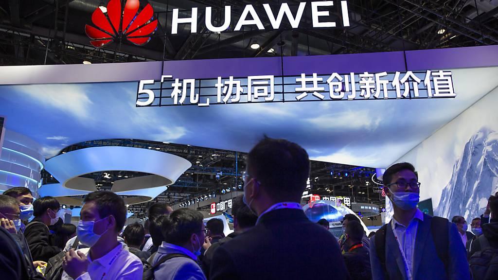 Geldstrafe bei Einsatz von Huawei-Komponenten