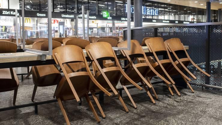 Bis Ende Februar müssen die Restaurants in der Schweiz schliessen.