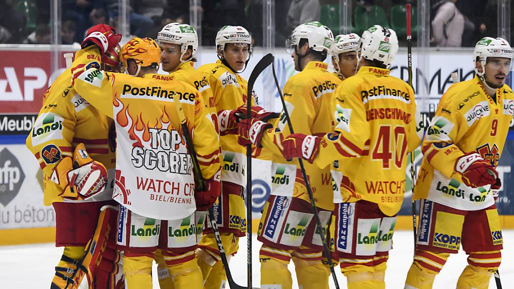 Biel dank Sieg in Freiburg wieder Leader