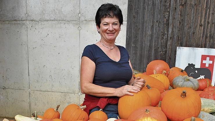 Helen Schmid aus Witnau verkauft viel ab Hof.