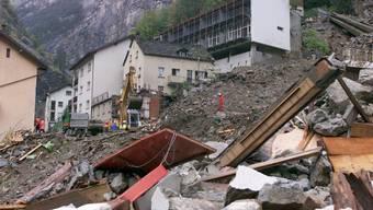 14. Oktober 2000: Vor 20 Jahren kamen bei Unwetterkatastrophe in Gondo 13 Personen ums Leben