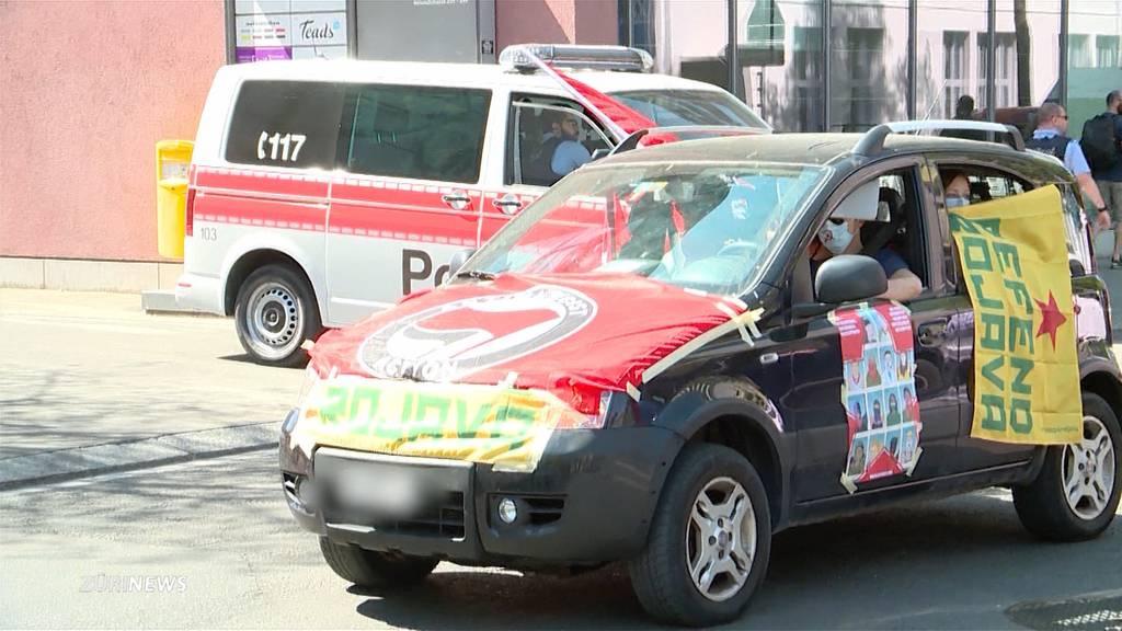 Andrea Stauffacher bei linksautonomer Auto-Demo verhaftet
