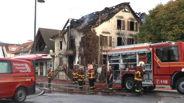 """Brand in Oberriet SG: """"Wir wissen nicht genau, wer sich im Haus aufgehalten hat."""""""
