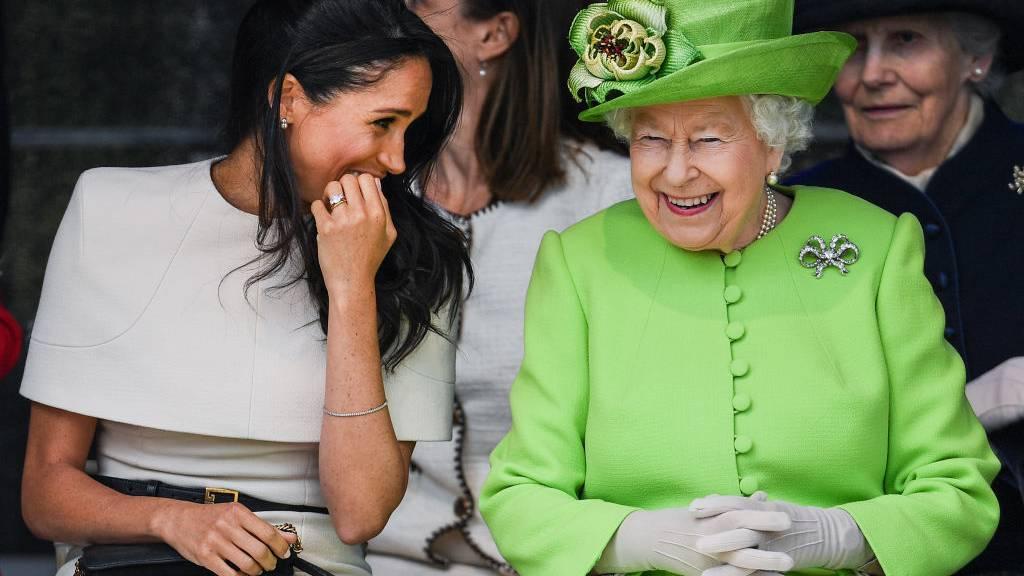 Meghan und die Queen