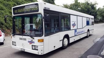 Und das ist er: der az-Wahlkampfbus