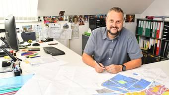 Andreas Affolter, Leiter Bau arbeitet seit 11 Jahren in Oensingen.