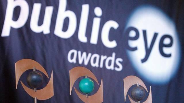 """Der """"Public Eye Award"""" wird für gravierende Fälle von Menschenrechtsverstössen und Umweltsünden verliehen (Archiv)"""