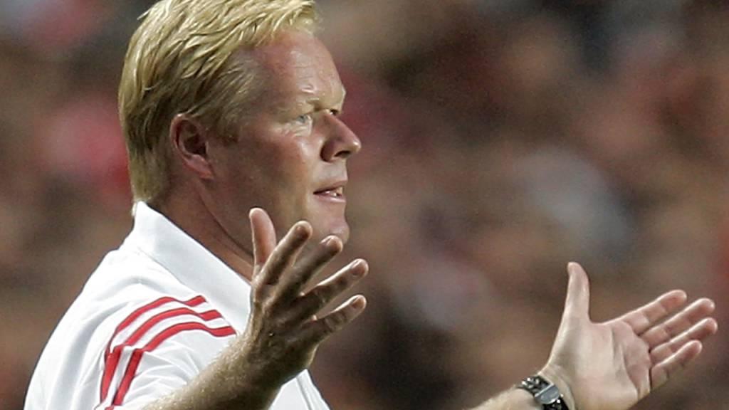 Ronald Koeman soll nach Medienberichten Barcelonas neuer Coach werden.