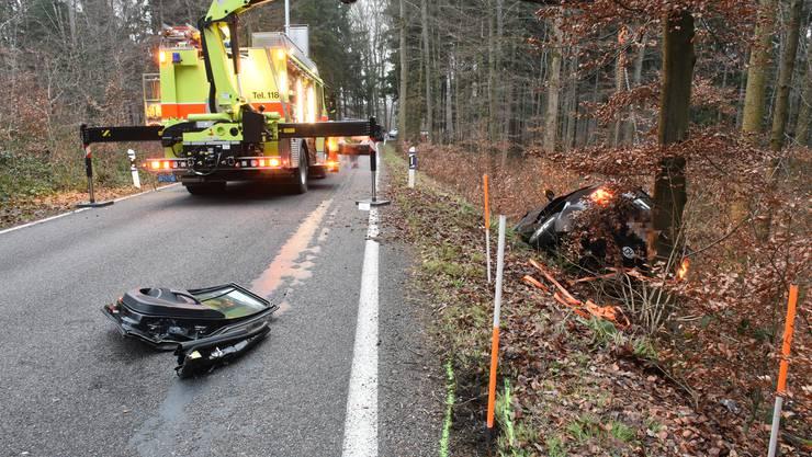 Der Unfall geschah um circa 7 Uhr auf der Unteren Geerenstrasse.