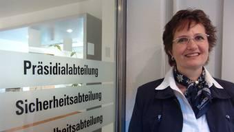 Gemeindepräsientin Sandra Rottensteiner und ihre Kollegen erhalten eine Erhöhung der Entschädigungen um 9,6 Prozent  für den Kaufkraftverlust der letzten 14 Jahre.