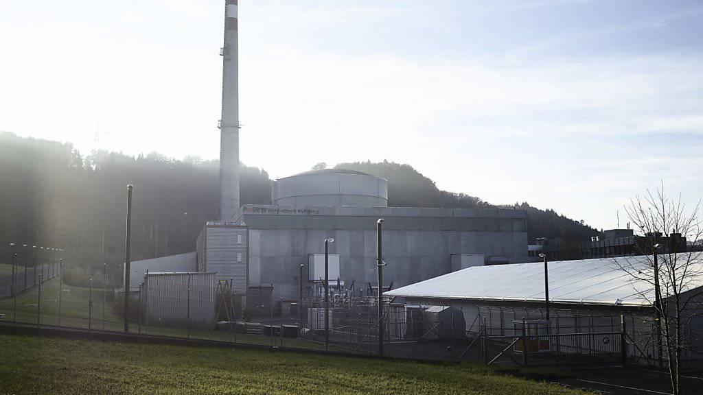 Das Atomkraftwerk Mühleberg wird als erstes bereits Ende 2019 stillgelegt. (Archiv)