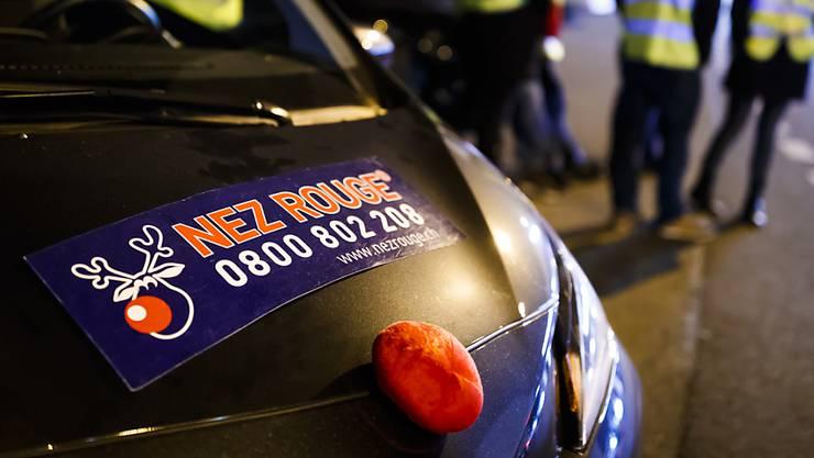 Aufgrund von Corona findet die Aktion «Nez Rouge» in diesem Jahr nicht statt. (Symbolbild)