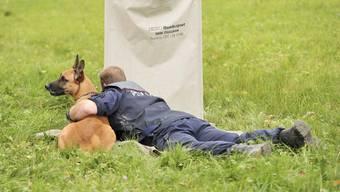 Polizeihundeprüfung in Bottmingen