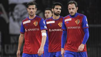 «Natürlich sind wir enttäuscht», sagt Valentin Stocker (links, hier mit Eray Cömert und Luca Zuffi) zur verlorenen Tabellenführung.