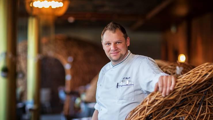 Sylvio Heinrich ist Gesamtleiter Küchen im «Seerose»-Komplex.