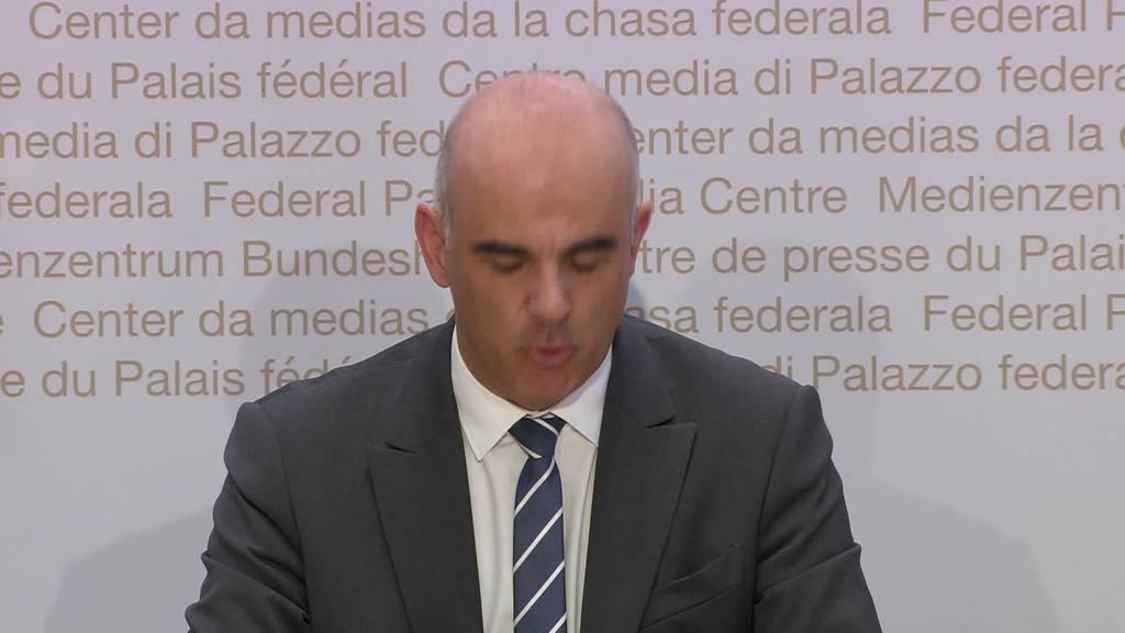 Corona-Fälle: Besorgter Bundesrat wegen steigender Zahlen