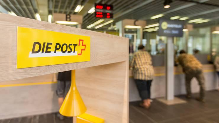 An acht Standorten im Aargau ist die Überprüfung der Postfilialen noch nicht abgeschlossen. (Archivbild)
