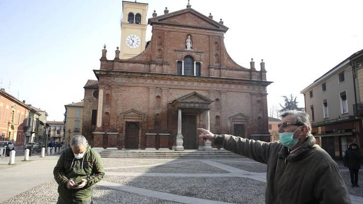 In Italien wurden wegen des Corona-Virus mehrere Städte angeriegelt.