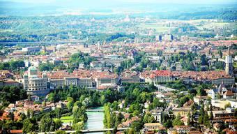 Politisches Zentrum: Die Grossregion Bern will, dass dem politischen Zentrum im Raumkonzept mehr Bedeutung zukommt. Samuel Thomi