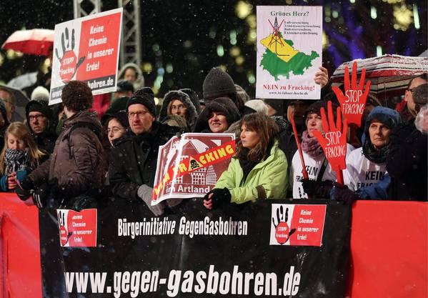 Fracking-Protest in Deutschland