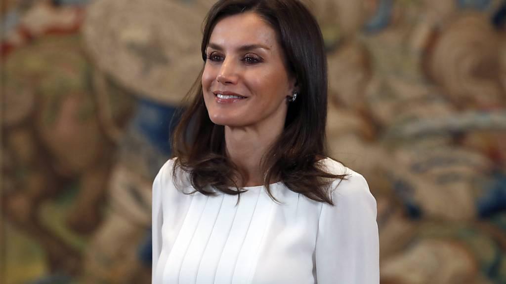 Spaniens Königin Letizia besucht die Schweiz