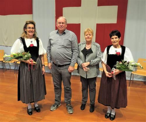 Die beiden neu gewählten GL-Mitglieder Konrad Ryser und Denise Monn
