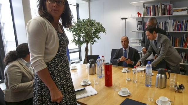 EU-Kommisarin Malmström beim italienischen Innenminister Alfano