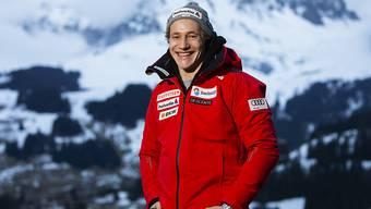 Trotz Verletzung ist Marco Odermatt in Adelboden (als Zuschauer) dabei - sein Comeback plant der Nidwaldner im Idealfall in zwei Wochen in Kitzbühel zu geben