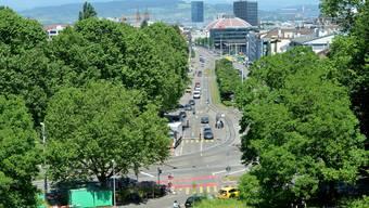 In diesem Bereich soll «Elba» enden und die Stadt den Verkehr übernehmen.