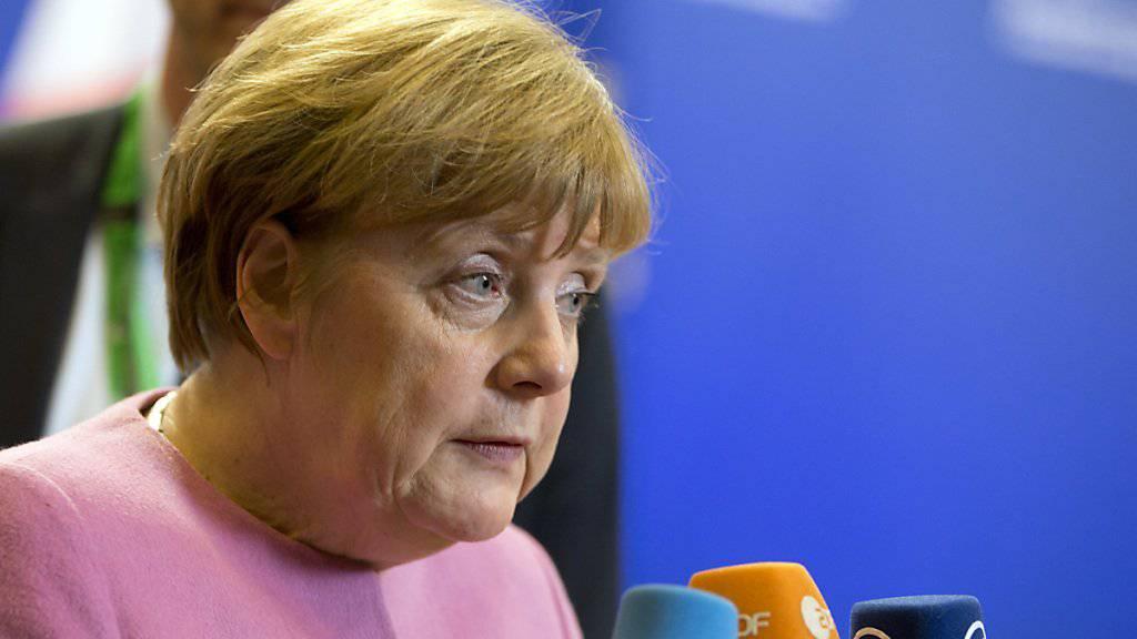 Deutschlands Kanzlerin Angela Merkel ist mit dem Ergebnis des EU-Gipfels zufrieden.