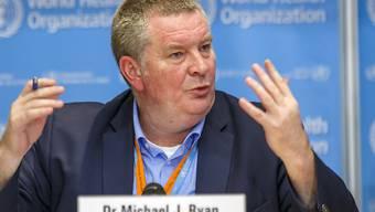 Der Experte der WHO, Michael Ryan, spricht davon, dass das Coronavirus analog zu HIV nie mehr aus dem Leben der Bürger verschwinden könnte. (Archivbild)