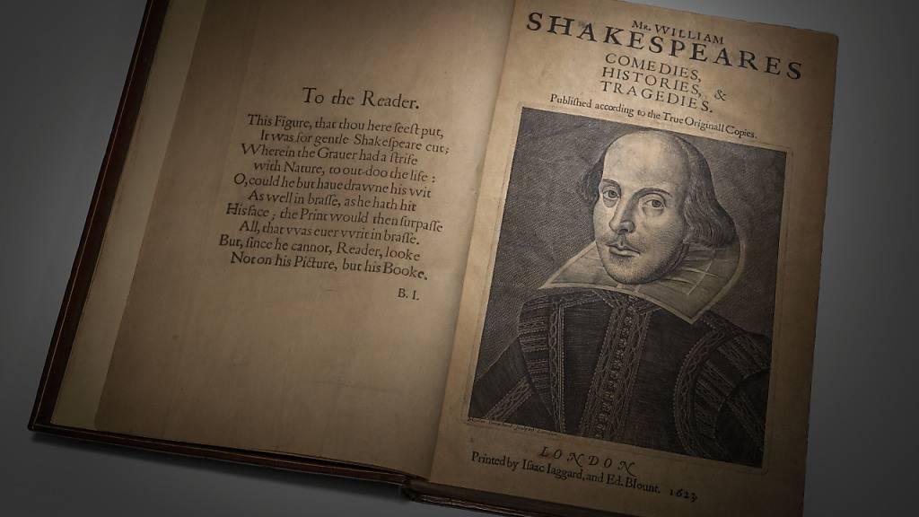 Shakespeare-Erstausgabe für fast zehn Millionen Dollar versteigert