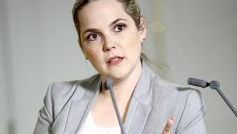 Steht als Regierungsratskandidatin nicht zur Verfügung: Martina Bircher.