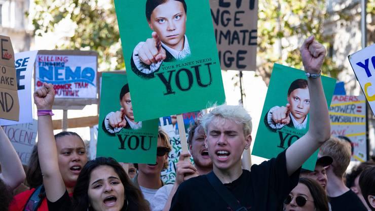 Vorbilder gesucht: «Wir können nicht genug Helden haben», findet Dieter Thomä. Bild: Getty Images (London, 20. September 2019)